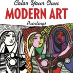 modernart 150x150 - The Garden of Earthy Delights - Adult Coloring Book Review
