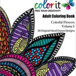 colorit cololrfulflowers 150x150 - Posh Coloring Book - Inspirational Quotes:   Adult Coloring Book Review