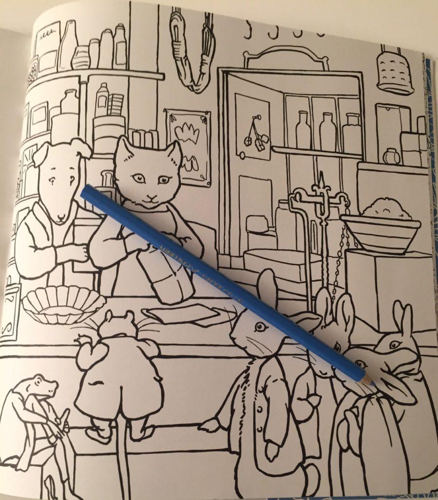 Beatrix Potter Coloring Book Review