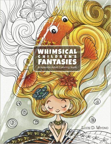 whimsicalchildrensfantasties - Whimsical Children's Fantasies Coloring Book Review