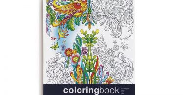gardenpaths 375x195 - Whimsical Children's Fantasies Coloring Book Review