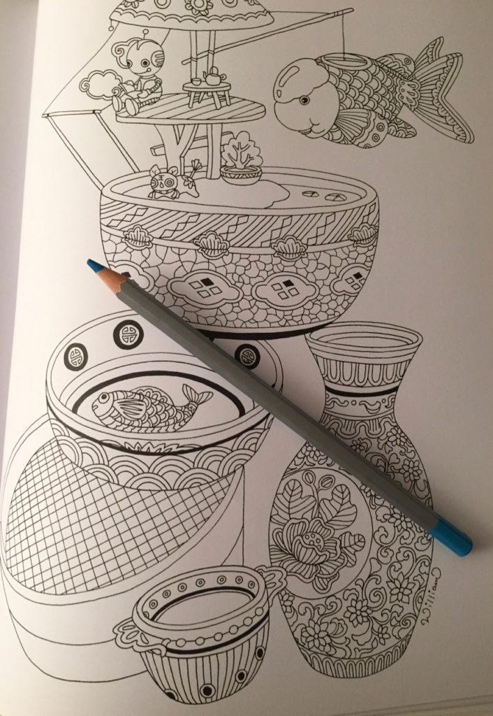 Colouring Chinoiserie Review