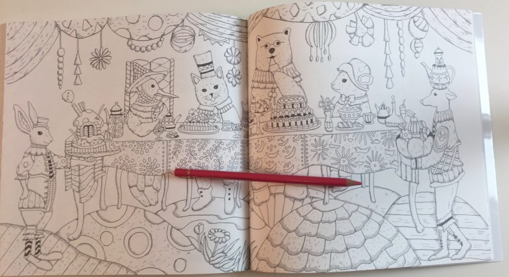 The Mysterious Planets Coloring Book