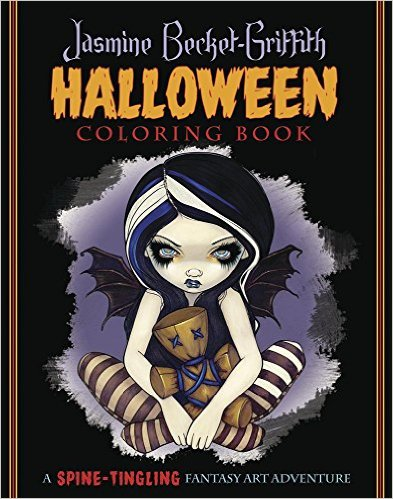 JBGhalloween - Jasmine Becket-Griffith Halloween Coloring Book
