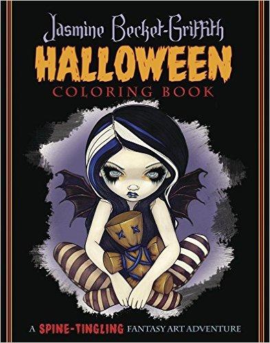 Jasmine Becket-Griffith Halloween Coloring Book | Coloring Queen
