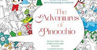pinnochio 375x195 - The Wizard of Oz Coloring Book by Fabiana Attanasio