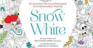snowwhite 375x195 - The Wizard of Oz Coloring Book by Fabiana Attanasio