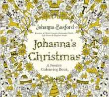 johannaschristmas 220x195 - The Mysterious Library - A Coloring Book Journey Into Fables (English Edition)