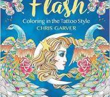 Flash Tattoos Coloring Book 220x195 - Romeo & Juliet:  A Colouring Classic - Review