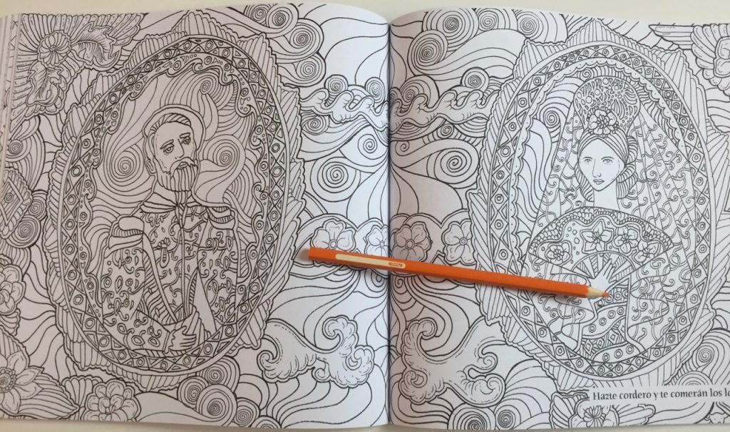 Buena Vista Colouring Book Lizzie Cullen