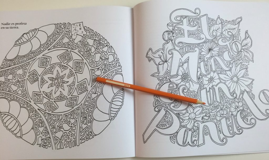 Buena Vista Colouring Book