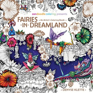 FairiesinDreamland 1 - Fairies in Dreamland - An Artist's Coloring Book