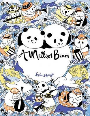 a million bears - A Million Bears - Beautiful Bears to Color Coloring Book