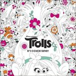 The Official Trolls Coloring Book