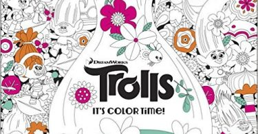 trolls 375x195 - Adult Coloring Book Treasury 2: 130 Illustrations from 70 Artists