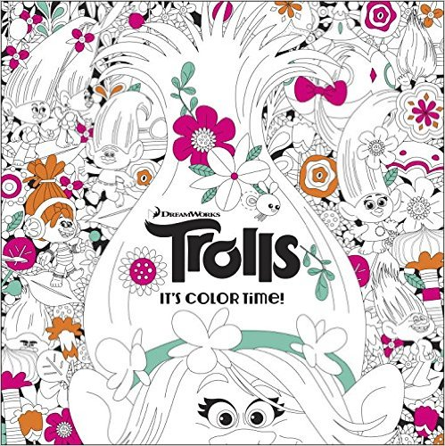 the official trolls coloring book - Coloring Page Trolls