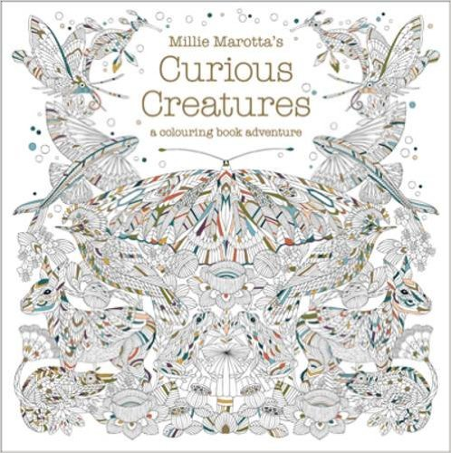 CuriousCreatures - Curious Creatures Coloring Book Review