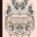 SummerNightsColoringBook 150x150 - Alice Down the Rabbit Hole Coloring Book Review