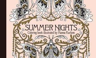 SummerNightsColoringBook 318x195 - Daydreams - Coloring Book Review & Giveaway
