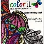 colorit calmingdoodles 150x150 - Alice and the Looking Glass Coloring Book