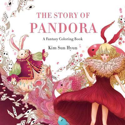 TheStoryofPandora - The Story of Pandora - A Fantasy Colouring Book