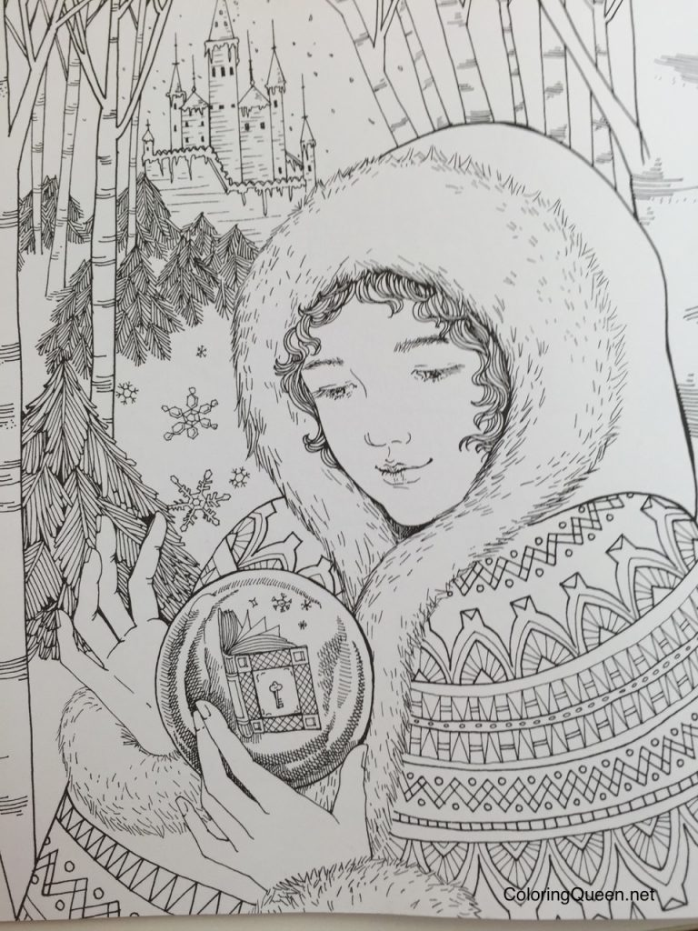 The Mysterious Library A Coloring Book Journey Into