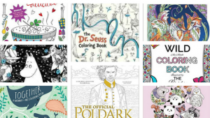 Coloring Books New Releases – November – 2016