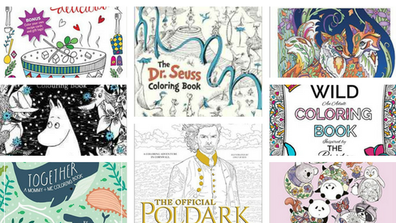 November 2016 - Coloring Books New Releases - November - 2016