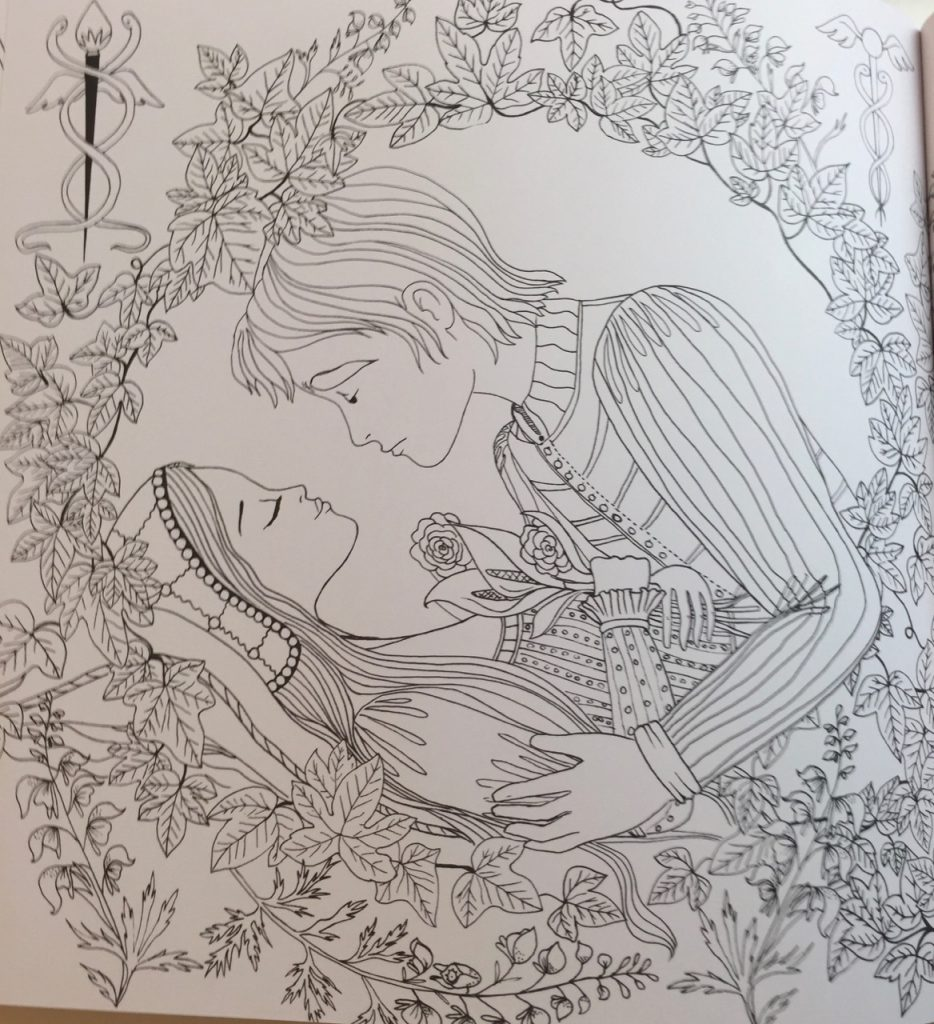 romeo amp juliet a colouring classic review coloring queen