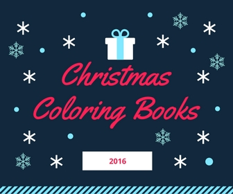 christmas coloring books for 2016