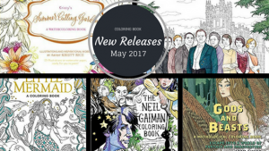 Coloring Books – New Releases – May 2017