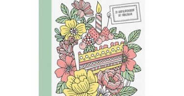 ingen vanlig dag  20 gratulationskort att farglagga 375x195 - The Magical Guinea Pig Colouring Book Review