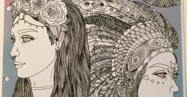 island of colors coloring book