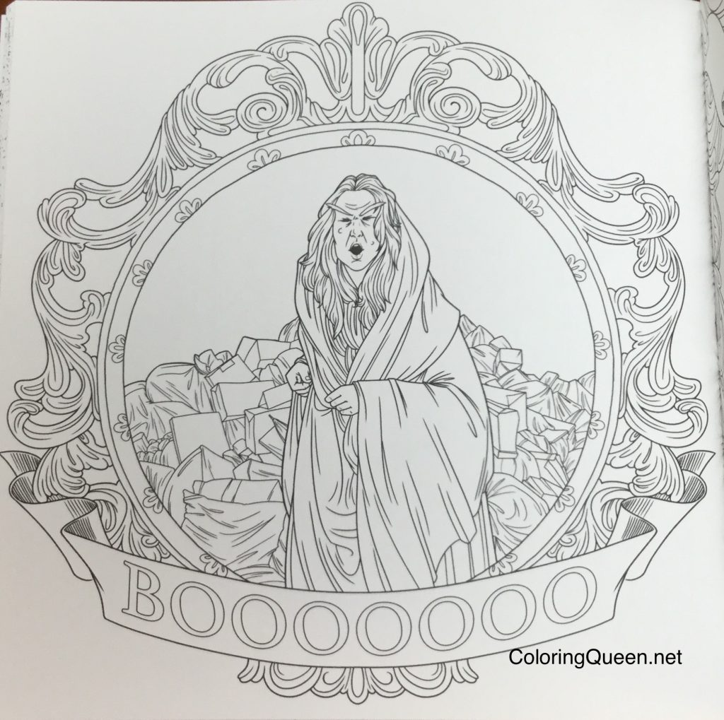 The Princess Bride: A Story Book To Color Review | Coloring Queen