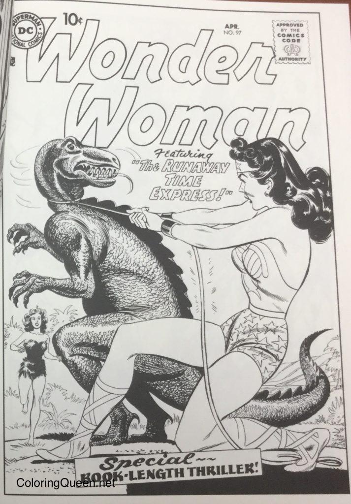 DC Comics Wonder Woman Coloring Book | Coloring Queen