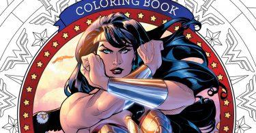 dc comics wonder woman coloring book  375x195 - Tir Na Nollag Coloring Book