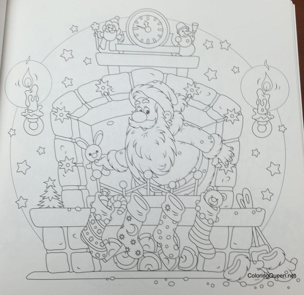 Christmas In My Heart Korean Coloring Book