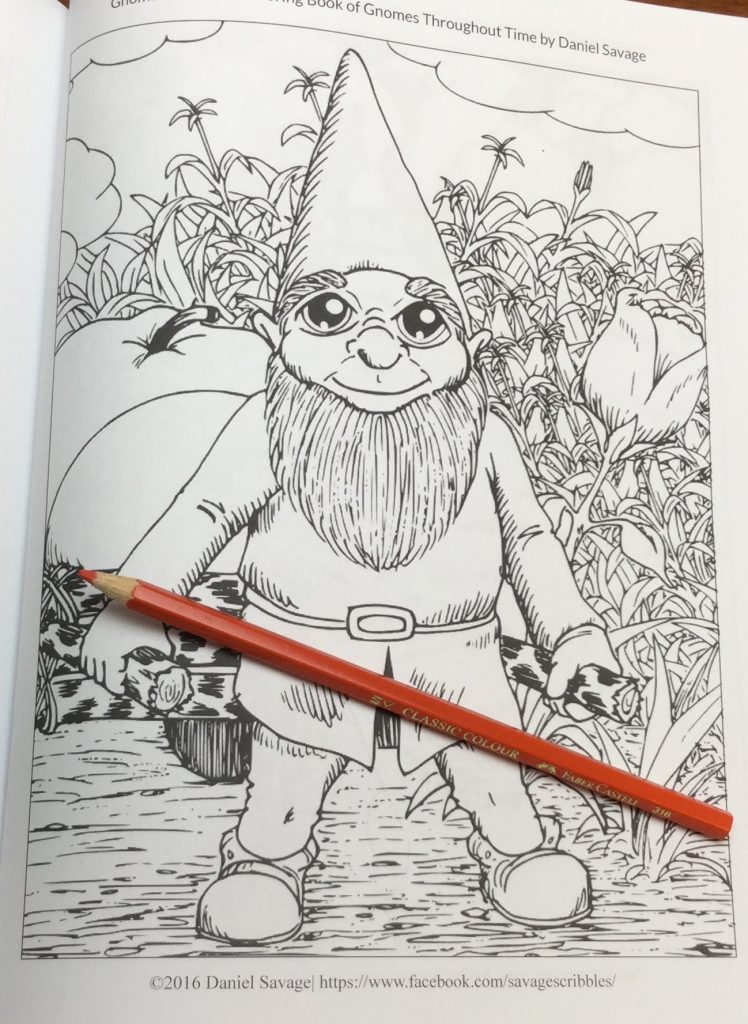 GnomesThroughouttime 0558 748x1024 - Gnomes: An Adult Coloring Book of Gnomes Throughout Time