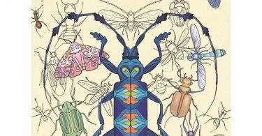 malarbok wonderful insects coloring book 375x195 - Cat and Magical Adventure - Akari (切り離せるぬりえ 猫と魔法の冒険)