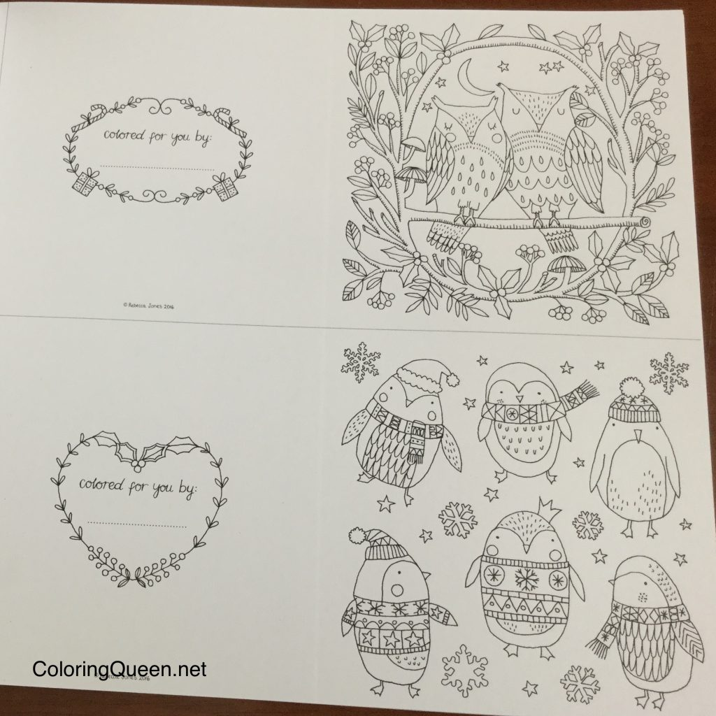The Coloring Book Of Cards Envelopes