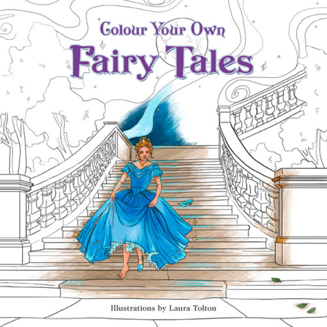 Colour Your Own Fairy Tales