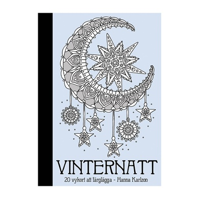 Vinternatt Winter Nights Postcard Book