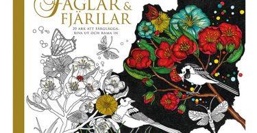 faglar och fjarilar 375x195 - Hidden Nature's Frame Fantasia: A Colouring Book to Keep Your Favourite Moments