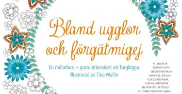 malarbok bland ugglor och forgatmigej 375x195 - Hidden Nature's Frame Fantasia: A Colouring Book to Keep Your Favourite Moments