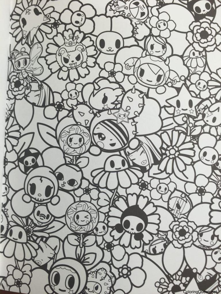 Tokidoki Coloring Book Coloring