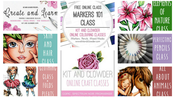 Kit and Clowder Coloring Courses