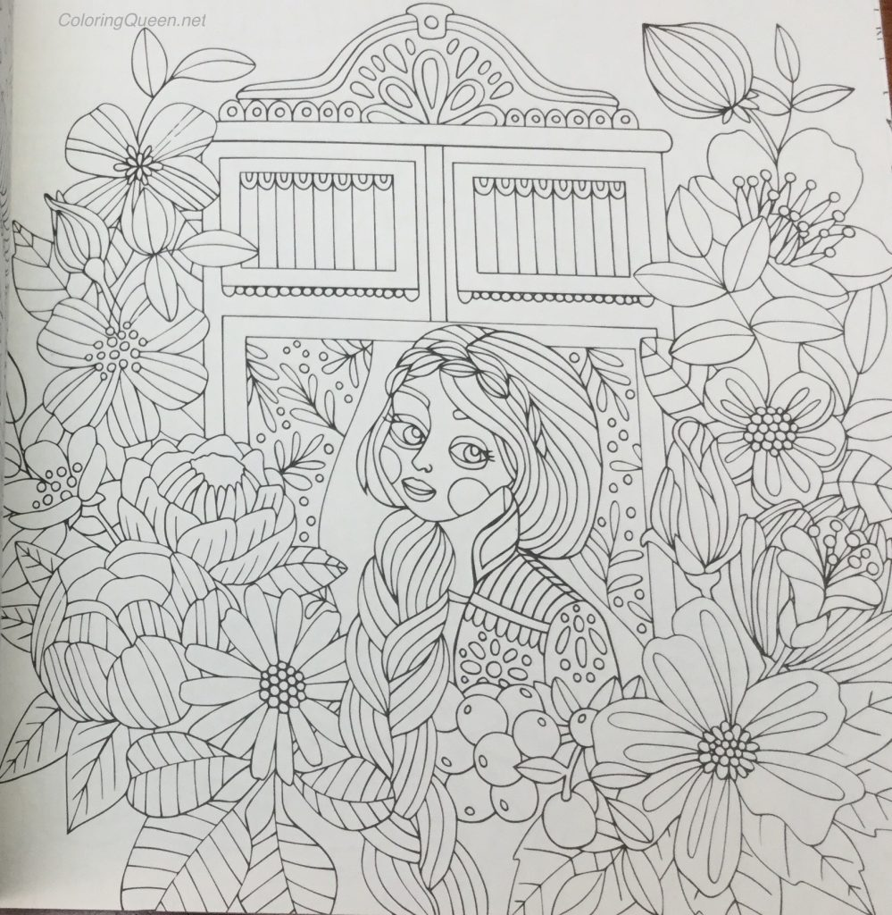 Fairy Tales Coloring Book Review (published in Sweden as Sagolikt ...