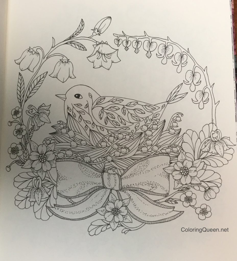 Twilight Garden Coloring Book (aka Blomster Mandala) | Coloring Queen