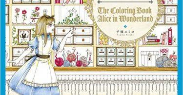 AliceInWonderland 375x195 - Disney Girls Coloring Book With Little Friends