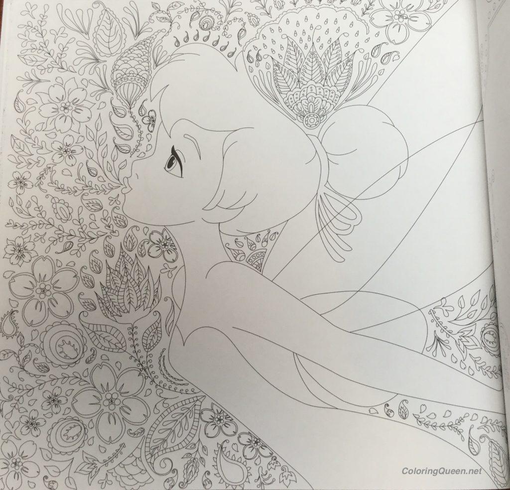 DisneyGirlsWithLittleFriendsColoringBook2 1024x984 - Disney Girls Coloring Book With Little Friends